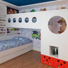 Dormitorios infantiles de estilo moderno por RAUL PÊGAS ARQUITETOS ASSOCIADOS LTDA