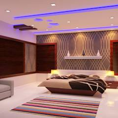 Full Home Interior Latest Designs: modern Living room by Nimble Interiors