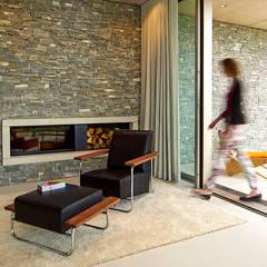 Wohnzimmer einrichtung inspiration homify for Wohnzimmerverbau modern