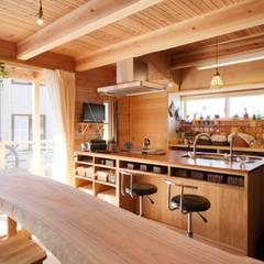 home sweet home: ATELIER TAMAが手掛けたtranslation missing: jp.style.キッチン.countryキッチンです。
