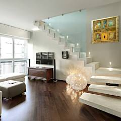translation missing: id.style.ruang-keluarga.modern Ruang Keluarga by studiodonizelli
