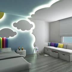 Dormitorios infantiles de estilo moderno por Niyazi Özçakar İç Mimarlık