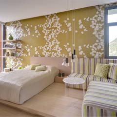 Paker Mimarlık - ÇUBUKLU B25: modern tarz Yatak Odası