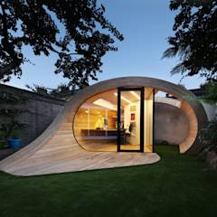 Garages de estilo moderno por Platform 5 Architects LLP