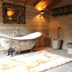 Spa de estilo rústico por Aitken Turnbull Architects