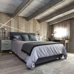 Camera da letto padronale: Camera da letto in stile in stile Moderno di DF Design