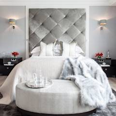 Photography for Kingshall Estates / Vastu Interiors - House in Northwood, London: modern Bedroom by Adelina Iliev Photography