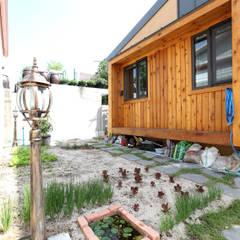 쌈지정원: 주택설계전문 디자인그룹 홈스타일토토의 translation missing: kr.style.정원.modern 정원