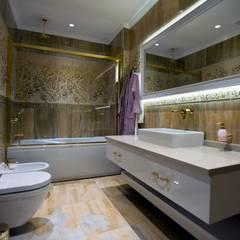 BABA MİMARLIK MÜHENDİSLİK - Yeşil Vadi Erguvan Evi, İstanbul.: modern tarz Banyo
