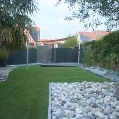 Vue d'ensemble: Jardin de style de style Moderne par EURL OLIVIER DUBOIS