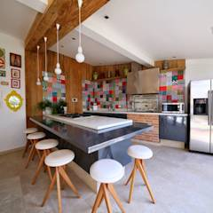 Garages de estilo moderno por MeyerCortez arquitetura & design