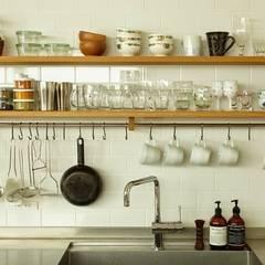 クレバスハウスのキッチン: 株式会社seki.designが手掛けたtranslation missing: jp.style.キッチン.scandinavianキッチンです。