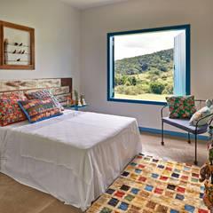 Dormitorios de estilo rústico por Beth Marquez Interiores