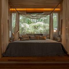 Casa³: Quartos translation missing: br.style.quartos.moderno por Denise Barretto Arquitetura