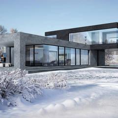 Hammer House: Дома в translation missing: ru.style.Дома.minimalizm. Автор -  Aleksandr Zhydkov Architect