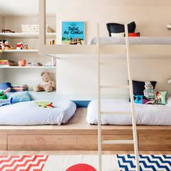 Dormitorios infantiles de estilo minimalista por A! Emotional living & work
