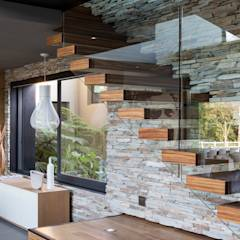 House in Blair Atholl: modern Living room by Meulen Architects