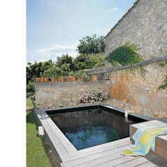 La piscine: Piscine de style de style Moderne par atelier julien blanchard architecte dplg