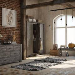 Wnętrze w stylu Country!: styl translation missing: pl.style.salon.rustykalny, w kategorii Salon zaprojektowany przez Seart