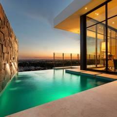 CASA MAR: Albercas de estilo moderno por Imativa Arquitectos