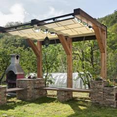 Progetto Giardino: Giardino in stile in stile Rustico di Federico Vota design
