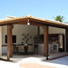 Argollo & Martins | Arquitetos Associados의 translation missing: kr.style.수영장.tropical 수영장