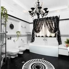 Дом в г.Калининграде: Ванные комнаты в translation missing: ru.style.Ванные-комнаты.klassicheskiy. Автор - AGRAFFE design