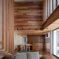 M4-house [ House of Overlap ]: Architect Show co.,Ltdが手掛けたtranslation missing: jp.style.家.modern家です。
