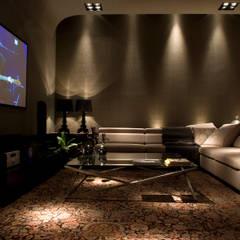 Salas multimedias de estilo translation missing: cl.style.salas-multimedias.moderno por dsgnduo