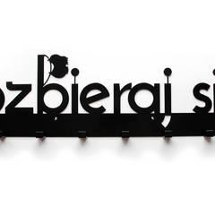 ROZBIERAJ SIĘ Wieszak do przedpokoju metalowy XXXL: styl translation missing: pl.style.korytarz-hol-i-schody.nowoczesny, w kategorii Korytarz, hol i schody zaprojektowany przez Bucha