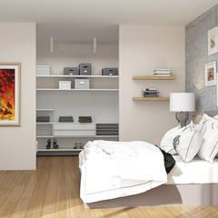ARTHUR&MILLER - Novo Maison Bodrum: modern tarz Yatak Odası