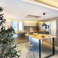 Cozinhas modernas por Egue y Seta