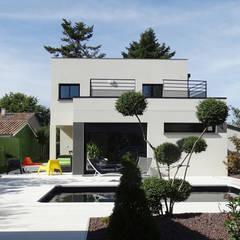 COCON DESIGN: Maisons de style de style Moderne par MFP ARCHITECTEURS