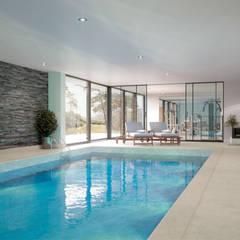 Canford Cliffs, Poole: modern Pool by David James Architects & Associates Ltd