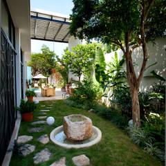translation missing: eg.style.حديقة.modern حديقة تنفيذ Taller Estilo Arquitectura