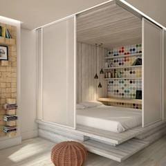 translation missing: id.style.kamar-tidur.industrial Kamar Tidur by YOUR PROJECT