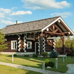 Smart Wood -  баня и летняя кухня: Дома в translation missing: ru.style.Дома.rustikalnyy. Автор - Smart Wood