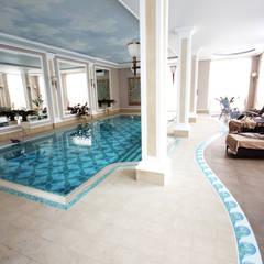 basen: styl translation missing: pl.style.basen.klasyczny, w kategorii Basen zaprojektowany przez JOL-wnętrza