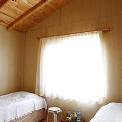 Kuloğlu Orman Ürünleri - AHSB - AHŞAP EV MODEL B: modern tarz Yatak Odası