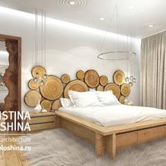 Dormitorios de estilo rústico por kristinavoloshina
