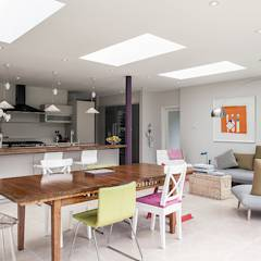 Rear Extension: modern Dining room by Nic  Antony Architects Ltd