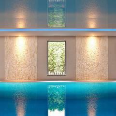 Rezydencja Orzech : styl translation missing: pl.style.basen.srodziemnomorski, w kategorii Basen zaprojektowany przez tomasz czajkowski pracownia