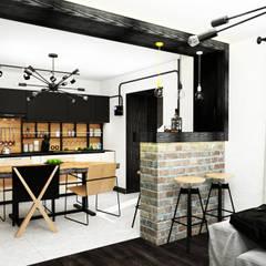 Креатив лофта: Кухни в translation missing: ru.style.Кухни.loft. Автор - AbcDesign
