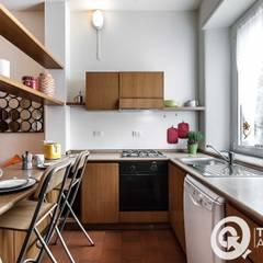 Casa R: Cucina in stile in stile Moderno di Architrek