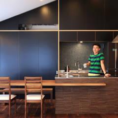 オリジナルダイニングキッチン: MA設計室が手掛けたtranslation missing: jp.style.キッチン.eclecticキッチンです。
