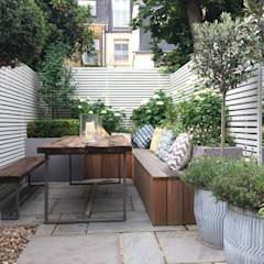 Slim & Subtle Rear Garden: modern Garden by Garden Club London