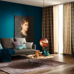 wohnzimmer einrichtung inspiration homify. Black Bedroom Furniture Sets. Home Design Ideas