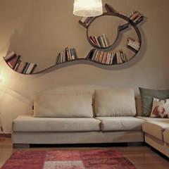 Bilgece Tasarım - Didem & Serkan Ozbakan: modern tarz Oturma Odası