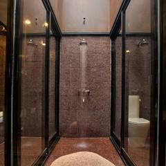Casa Evans: Baños de estilo moderno por A4estudio