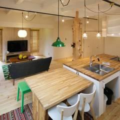 M's HOUSE: dwarfが手掛けたtranslation missing: jp.style.ダイニング.scandinavianダイニングです。